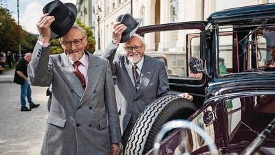 LUZERN: Millionenschwere Oldtimer vorgeführt