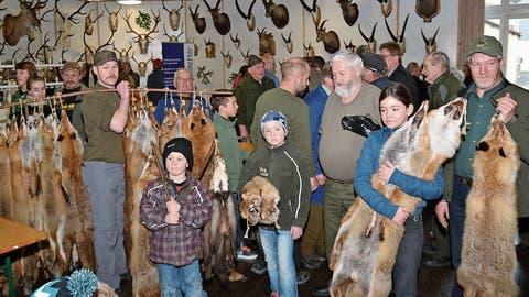 ALTDORF: Höhepunkt der Jägerfamilie naht