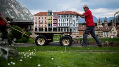 Piazza Grande für einmal ganz mini