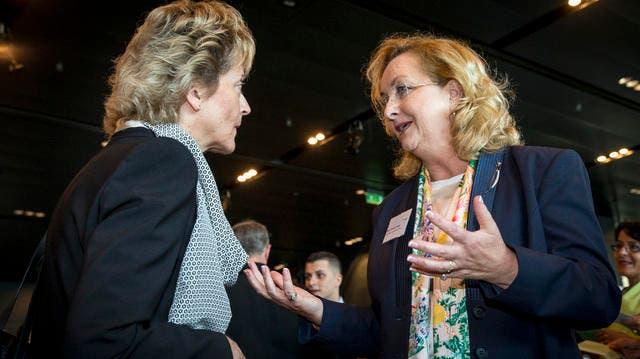 LUZERN: Bundesrätin will wettbewerbsfähiges Wachstum