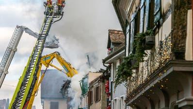 GROSSBRAND: Nach dem Steckborner Altstadtbrand werden zwei Beschuldigte angeklagt