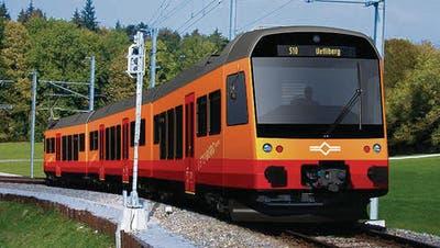 Die Uetliberg-Triebzüge von Stadler werden in der Ostschweiz gebaut. (Bild: pd)