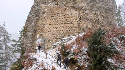 ZERFALL: Burg Ramschwag bei Häggenschwil braucht mehr Schutz