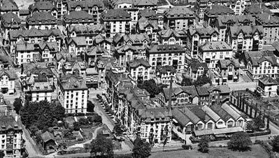 LUFTBILDER: Die Stadt St. Gallen von oben