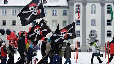 Piraten stürmen Klosterplatz