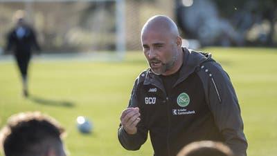FCSG: Giorgio Contini, ein Trainer auf Bewährung