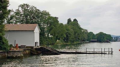 Seeuferweg in Rorschacherberg: «Verzicht nicht nachvollziehbar»