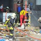 Explosion und Brand in Müllbunker der KVA