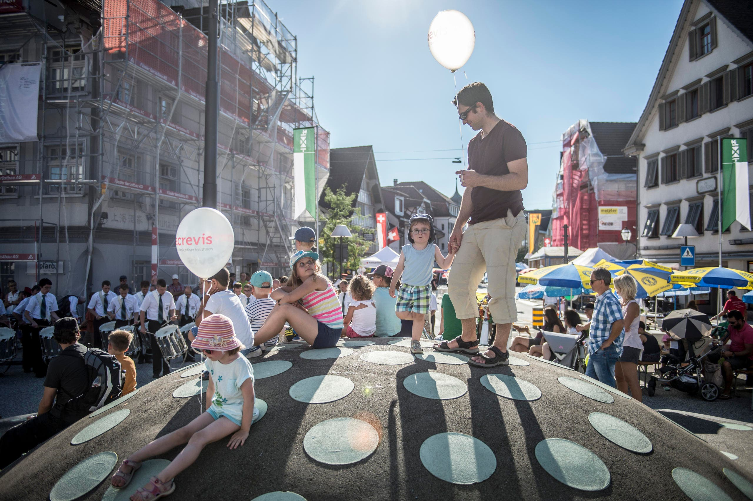 Strassenfest Gossau (Bild: Urs Bucher)