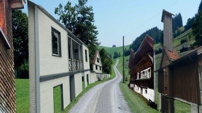 Krinau: Fassaden werden zu Kunstobjekten