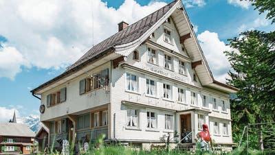 Das «Sterne-Huus» im Ennetbühler Dorfkern. (Bild: Olivia Hug)