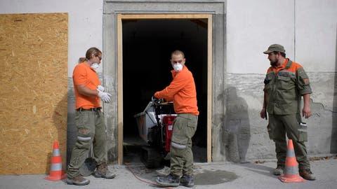FRAUENFELD: Thurgauer Zivilschützer helfen in Bondo