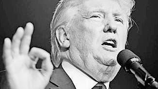 Donald Trump spielt mit der Atombombe