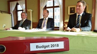 WEINFELDEN: Budget in Rot