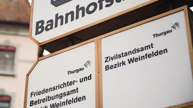 SPARPROGRAMM: Zivilstandsämter im Thurgau: Aus fünf sollen zwei werden