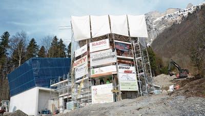 FRÜMSEN: Die Eröffnung der Staubern-Seilbahn steht bevor