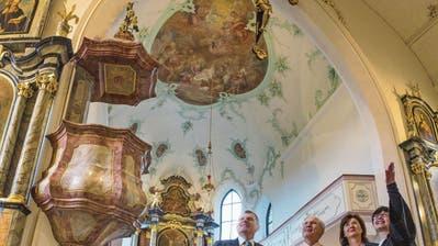 Kirche Thal nach achtmonatiger Bauzeit eingeweiht