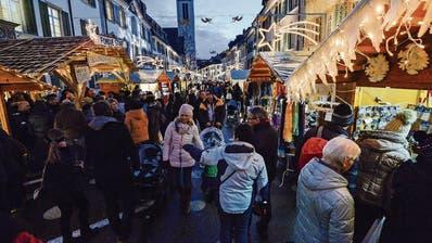 FRAUENFELD: Glühwein und viel Herzblut am Frauenfelder Weihnachtsmarkt