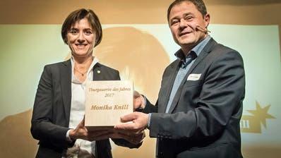 INTERVIEW MIT MONIKA KNILL: Thurgauerin des Jahres: «Regieren ist manchmal eine einsame Geschichte»