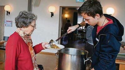 FRAUENFELD: Zum Brot für alle gab es Suppe