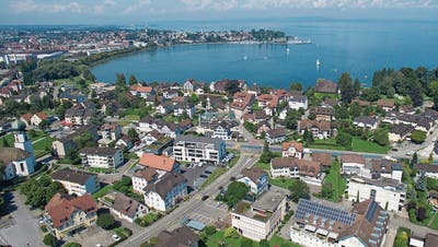 STEINACH: Erneut ist Steinach ein geteiltes Dorf