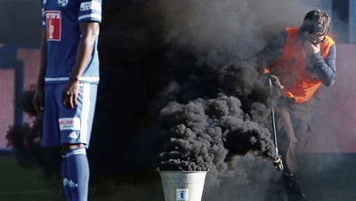 FUSSBALL: Nach Pyro-Vorfall an FCSG-Match: Das Opfer bleibt auf seinen Kosten sitzen