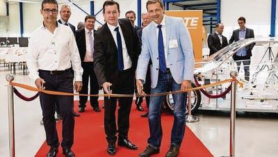 TE Connectivity investiert 13 Millionen Franken in Steinach