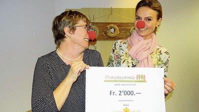 Frauenverein unterstützt die Stiftung Lebensfreude