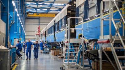 BUSSNANG: Weiterer Millionen-Auftrag für Stadler Rail in Grossbritannien