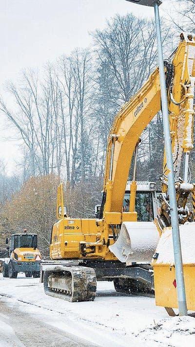 FRAUENFELD: Wissen, wo der Bagger gräbt