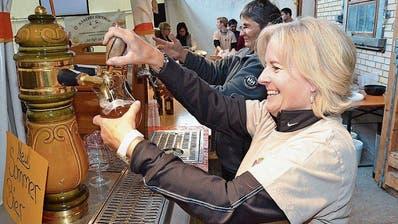 ESCHLIKON: Bier ist gut und macht gute Laune
