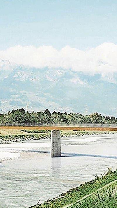 VADUZ/BUCHS: Ja zur Velobrücke Räfis–Vaduz
