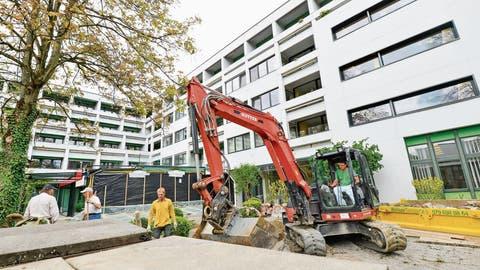KREUZLINGEN: Betrieb läuft trotz Baustelle weiter