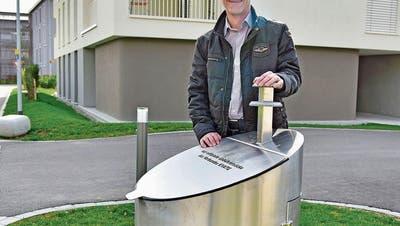 WEINFELDEN: Abfall im Boden