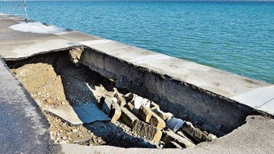 ARBON: Uferpromenade bricht weg