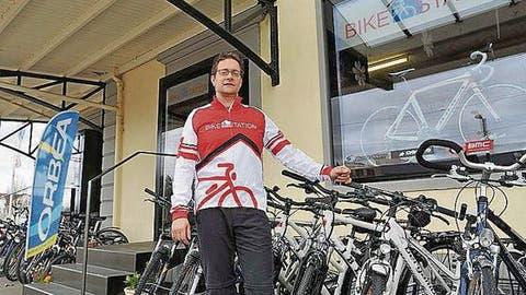 Bike-Station mit Betreuung