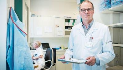 MÜNSTERLINGEN: Herr des Krebs-Registers
