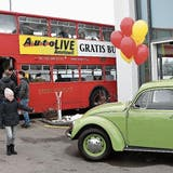 AMRISWIL: Nach dem Autosalon ans Autolive