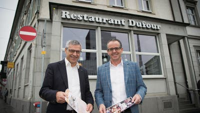 """ST.GALLEN: Wie das """"Dufour"""" zum Treffpunkt für Bierliebhaber werden soll"""