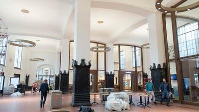 ERSTE EINDRÜCKE: Die neue St.Galler Bahnhofhalle: Grosszügiger, luftiger, schöner