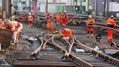 BAHNVERKEHR: Das sind die acht grössten Ostschweizer ÖV-Baustellen