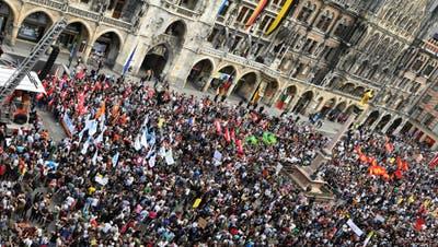 30'000 demonstrieren in München gegen geplantes Polizeigesetz