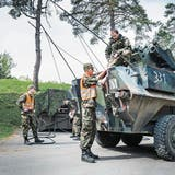WEINFELDEN: Volltruppenübung der Armee im Thurgau: Helene muss warten