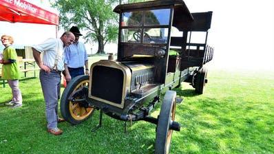 Historische Fahrzeuge an den Arbon Classics