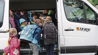 INFRASTRUKTUR: Es fährt doch wieder ein Schulbus in Horw