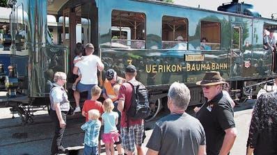Schweizer Bähnler lassen deutsches Bahnfest steigen