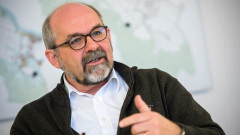 Harry Müller, Gemeindepräsident von Wagenhausen. (Reto Martin)