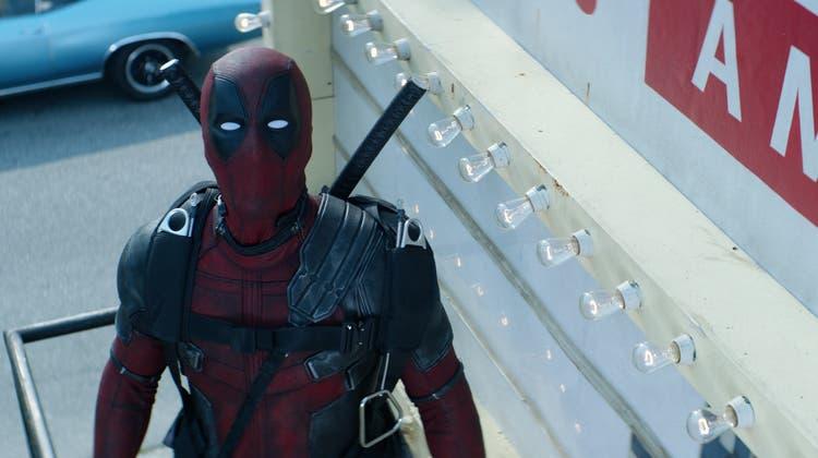Deadpool, wie man ihn schon aus dem ersten Film kennt. (Bilder PD)
