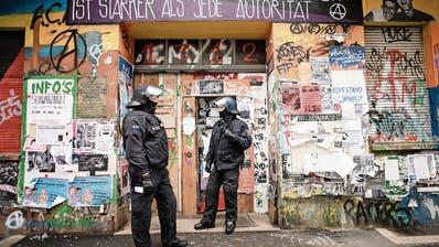 Berlins Angst vor den Autonomen