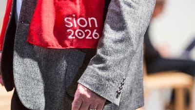"""Parlament soll """"Sion 2026"""" mit einer Milliarde unterstützen"""